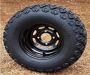 10 Black Steel Wheels