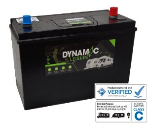 115ah Deep Cycle Leisure Battery From Dynamic