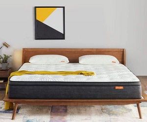 12 Inch Plush Pillow Top Hybrid Mattress