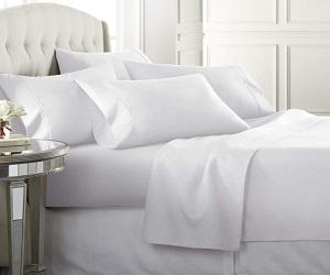 1800 Series 6 Piece Bedding Sheet & Pillowcases Sets