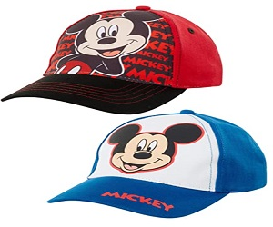 2 Pack Mickey Mouse Cap