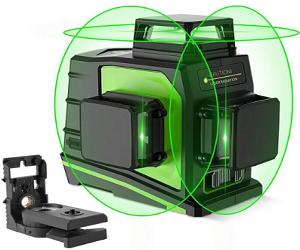 3D Laser Level Green Lines USB Charging Level GF360G