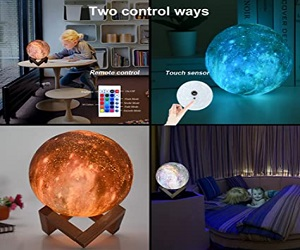 3D Moon Lamp for Kids