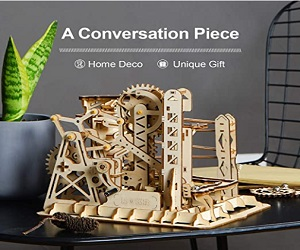 3D Puzzle Wooden Marble Run Model Kits