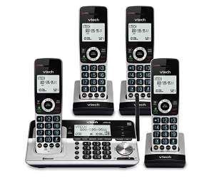 4 Handset Cordless Phone For Home