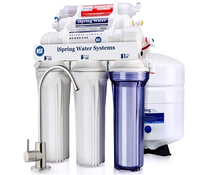 6-Stage Under Sink Reverse Osmosis Drinking Water Filter System