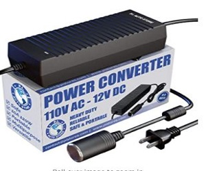 110V / 120V AC - 12V DC Power Converter/Adapter/Transfor