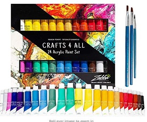 Acrylic Paint Set + Extra $1.00 Off