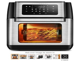 Air Fryer Toaster Oven + Extra 50% Off