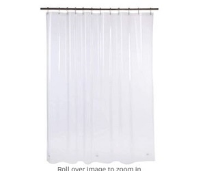 AmazerBath Plastic Shower Curtain,