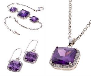 Belleek Living Jewellery Amethyst Collection