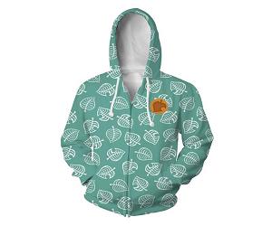 Animal Crossing Zipper Hoodie