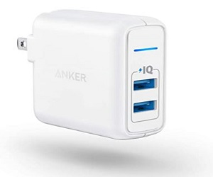 PowerPort 2 with PowerIQ and Foldable Plug, for iPhone