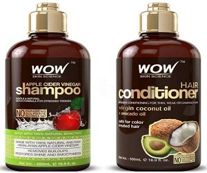 Apple Cider Vinegar Shampoo And Hair Conditioner Set