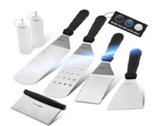BBQ Griddle Accessories Set,  + Extra 15% Off
