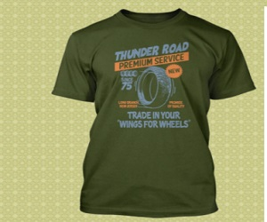 BRUCE SPRINGSTEEN inspired THUNDER ROAD T-Shirt