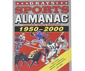 BTTF Grays Sports Almanac 1950 2000 Book Bag