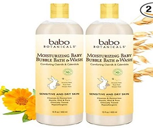Moisturizing Baby 2-in-1 Bubble Bath & Wash with Natural Oatmilk
