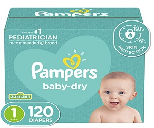 Baby Diapers 120 Count