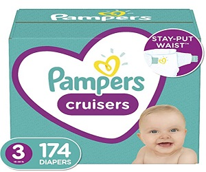 Baby Diapers 174 Count