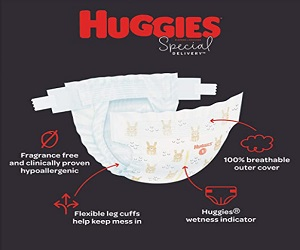 Baby Diapers Size 1 198 Ct