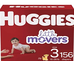 Baby Diapers 3 Size 156 Ct