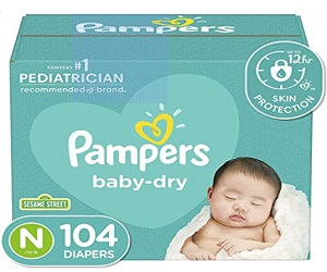 Baby Dry Diapers Pack 104