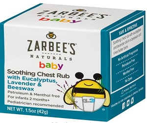 Baby Soothing Chest Rub