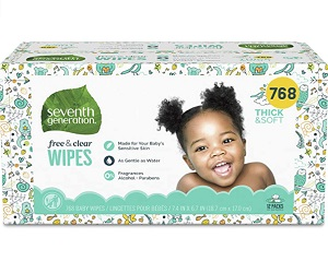 Baby Wipes 768 count