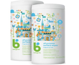 Babyganics All Purpose Surface Wipes,