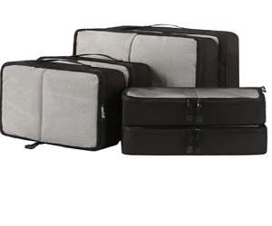 6 Set Packing Cubes For Travel Luggage