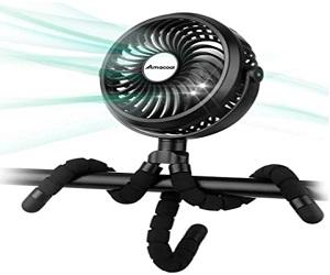 Battery Stroller Fan