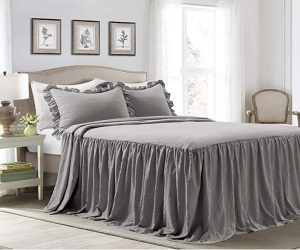Bedspread Shabby Chic Style 3 Piece Set King