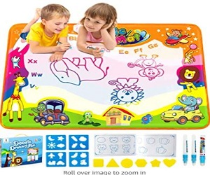 Betheaces Water Drawing Mat Aqua Magic Doodle Kids Toys