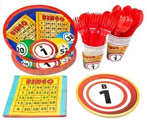 Bingo Party Supplies Packs 113 Pieces