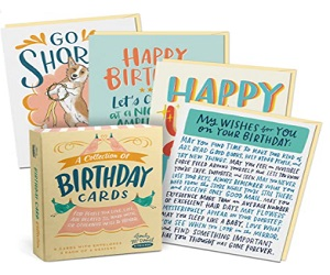 Birthday Box Of 8 Assorted Cards