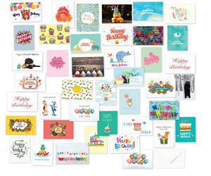 Birthday Cards 40 Assortment