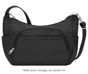 Anti Theft Cross-Body Bucket Bag