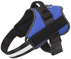 Dog Harness, No-Pull Reflective Dog Vest