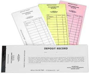 Booked Deposit Slips