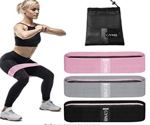 Booty 3 Resistance Bands for Legs & But + Extra 10% Off