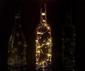 Bottle Top String Lights Warm White (HOM2394)