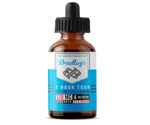 Bradley's - 3 Hour Tour 30ml CBD E-Liquid