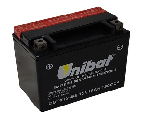 CBTX12BS Unibat Motorcycle Battery