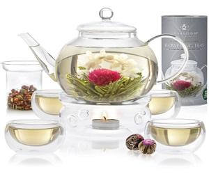 COMPLETE BLOOMING TEA SET