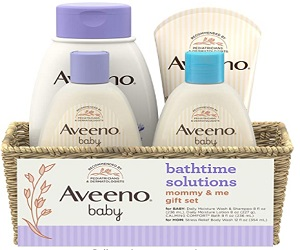 Baby Moisturizing Lotion & Stress Relief Body Wash for Mom
