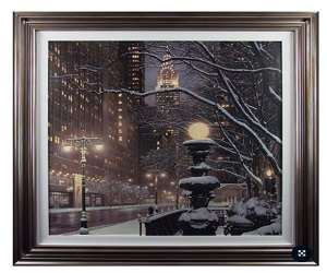 Camelot Pictures City Lights New York City Farmed Art