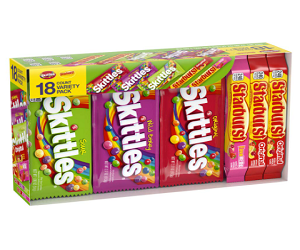 Candy Full Size Variety Mix 18 Count Box