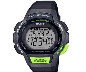 Casio LWS1000H-1AV Ladies Runner Series Black/Grey