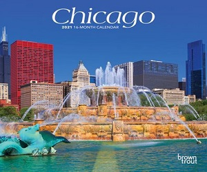 2021 Chicago Mini Wall Calendar